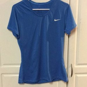 Nike Pro-Dri Fit-Polyester Blend-Workout Shirt
